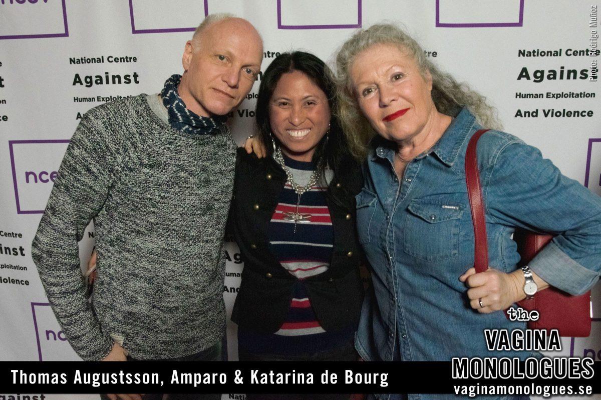 Thomas Augustsson, Amparo & Katarina de Bourg