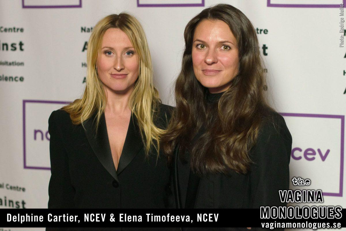 Delphine Cartier, NCEV & Elena Timofeeva, NCEV
