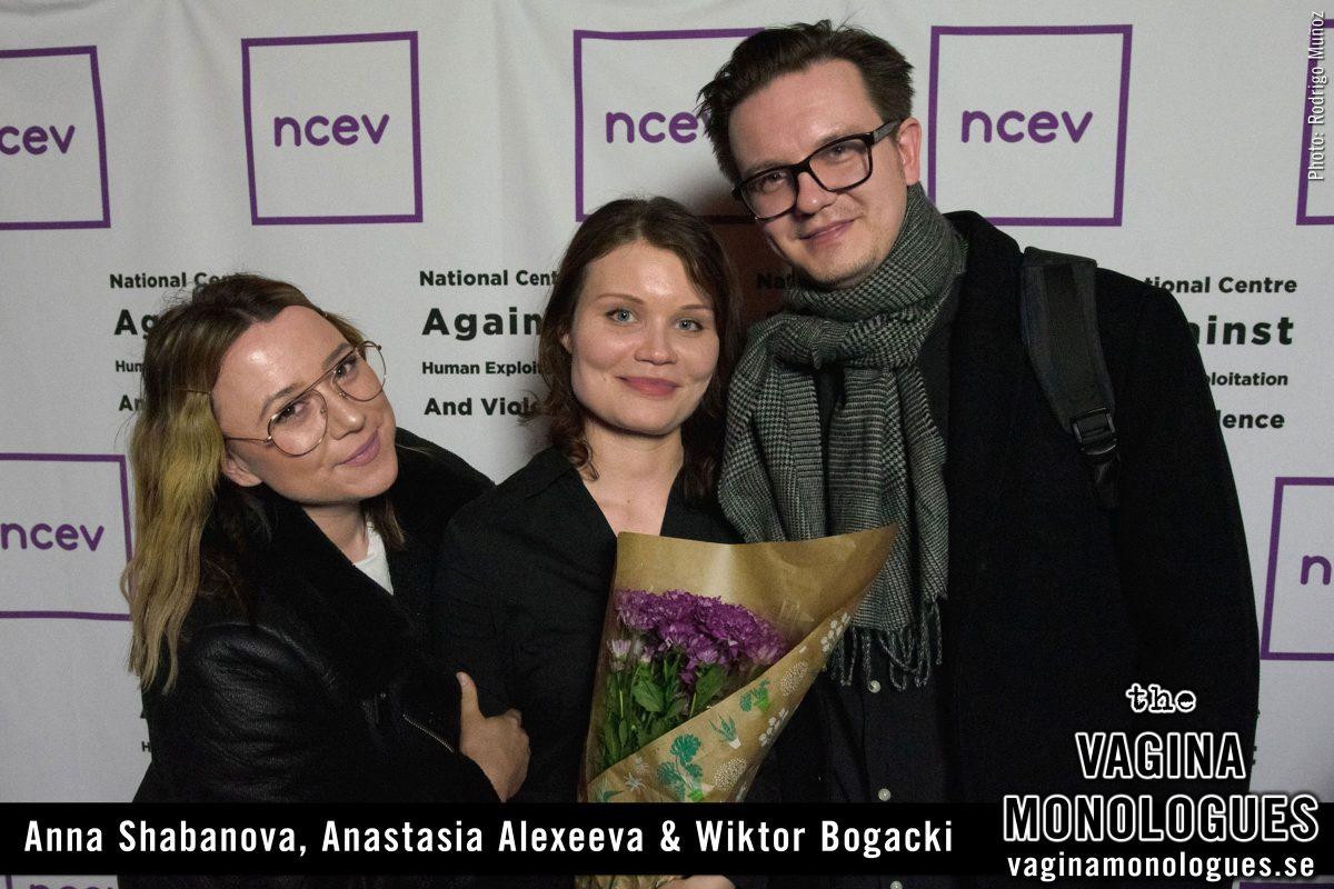 Anna Shabanova, Anastasia Alexeeva & Wiktor Bogacki