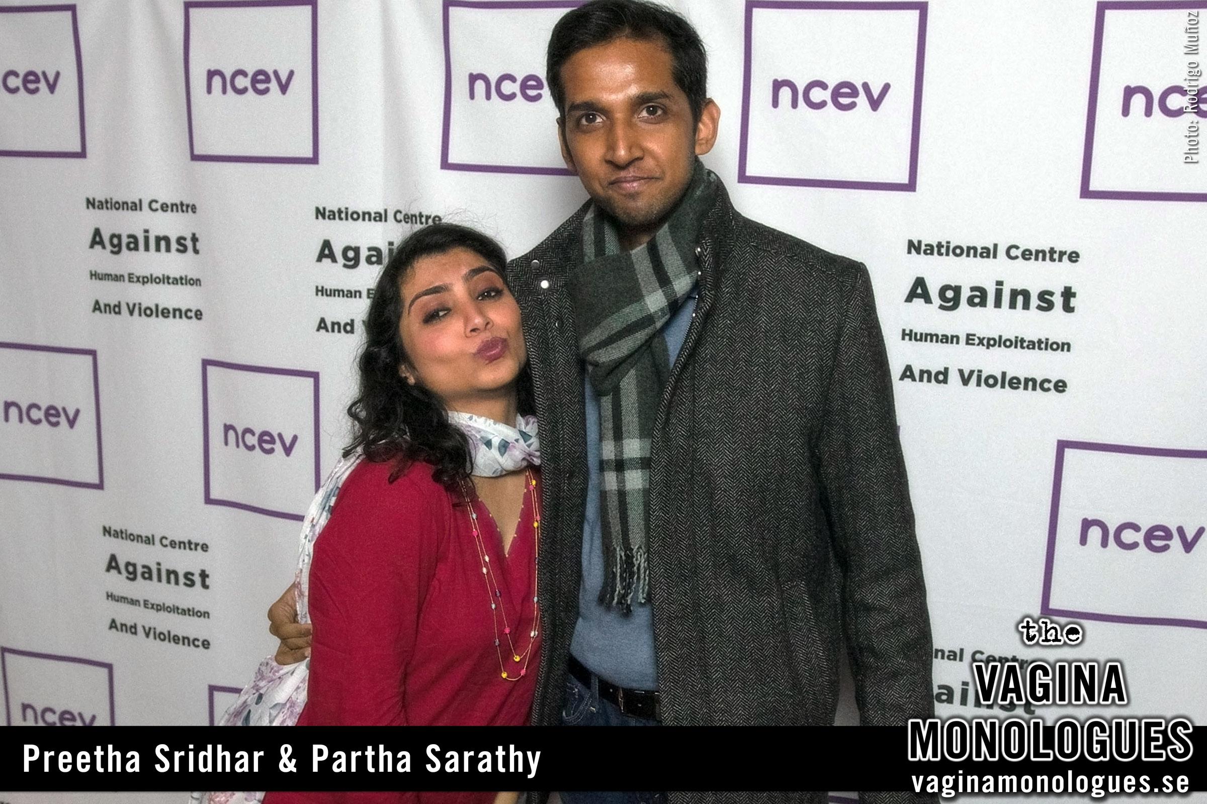 Preetha Sridhar & Partha Sarathy