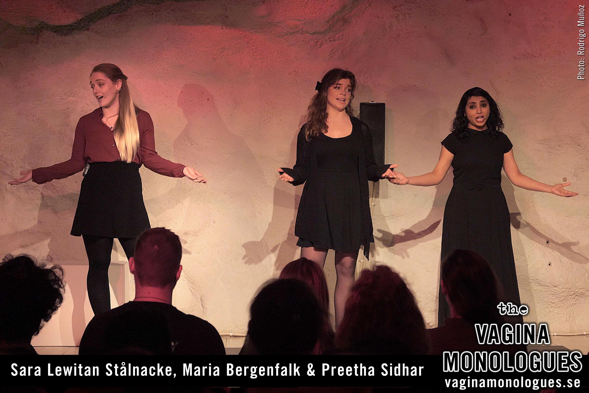 Sara Lewitan Stålnacke, Maria Bergenfalk & Preetha Sidhar