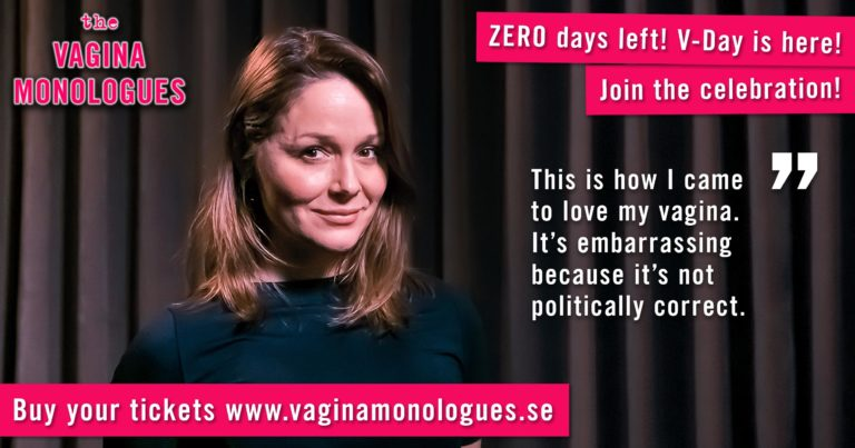 Berna is performing at The Vagina Monologues on 6th March 2020. Buy tickets at vaginamonologues.se!